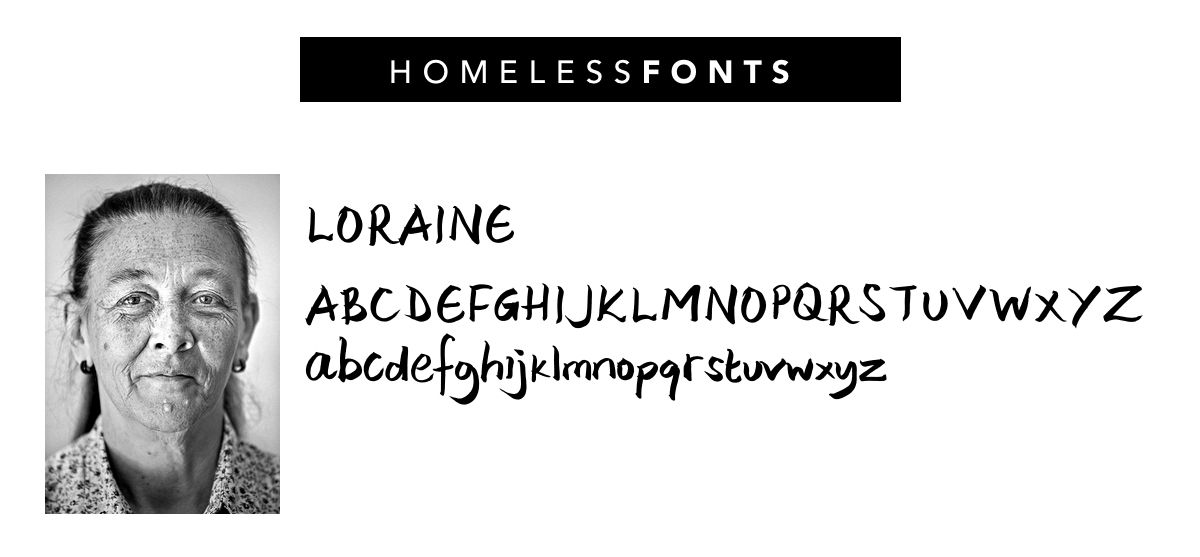 Homeless fonts - police - Loraine